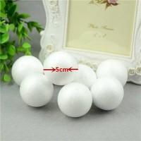 Styrofoam ball (bola gabus) 5 cm