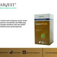 HARVEST SANOPAIN isi 30 btr (obat rematik alami) HARGA TERMURAHHHH