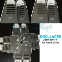 Koollaces Tali Sepatu silikon Sepatu Formal - Coklat tiga CM