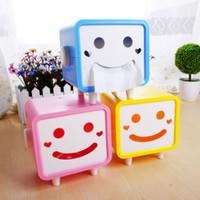 Smile Tissue Box Pumping Pajangan Kotak Penyimpanan Tisu Unik