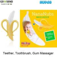Nuby Nana Nubs NanaNubs Banana Teether Toothbrush