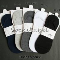 Hidden Socks Kaos Kaki Wakai Shoes Cewe Cowo Wanita Pria Breathable