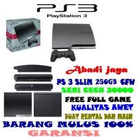 Promo murah!!!ps 3 250gb full game lengkap tinggal main
