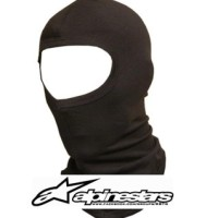 Masker Bikers Full Face Mask Ninja Spandex Balaclava Murah - Hitam, all size