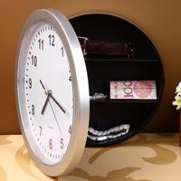Brankas Bentuk Jam Dinding / Wall Clock Safe Hidden Money Safety Box