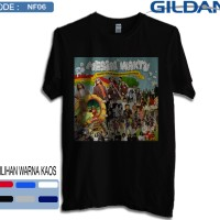 Kaos naif band original gildan softstyle 6