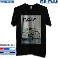 Kaos naif band original gildan softstyle 7
