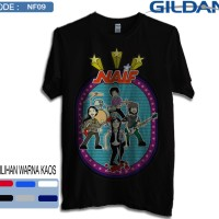 Kaos naif band original gildan softstyle 9