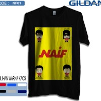 Kaos naif band original gildan softstyle 1