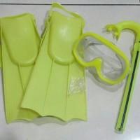 Paket kacamata boot+selang diving