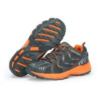 Sepatu Running KETA 193 Grey Orange /Jogging/Running/Outdoor