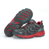 Sepatu Running KETA 193 Grey Red /Jogging/Running/Outdoor