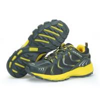 Sepatu Running KETA 193 Grey Yellow /Jogging/Running/Outdoo