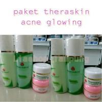 (Paket ACNE GLOWING)Theraskin acne glowing skin care cream