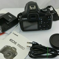 Canon eos 1100D lensa kit 18-135mm