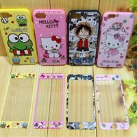 case casing iphone 5 5S SE 6 6S 7 plus doraemon cute lucu hello kitty