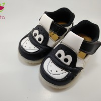 Sepatu Anak/Baby shoes 1-2 tahun bunyi kulit sintesis karakter II