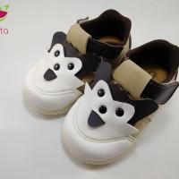 Sepatu Anak/Baby shoes 1-2 tahun bunyi kulit sintesis karakter