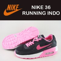 sepatu wanita Nike 36 Running Indo Doff hitam