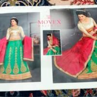 lehengga saree/ bahan busana india dan muslim/ baju pesta