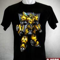 Kaos Transformers New Bumblebee Ukuran Anak No. 0,1,2