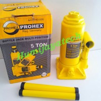 Dongkrak Botol 5 Ton Prohex / Dongkrak Mobil / Dongkrak
