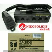 Car amplifier TOA ZA-250S 25 watt (DC) + sirene + mic