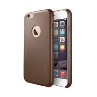 Spigen Leather Original Casing for iPhone 6 or 6S - Brown
