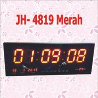 Jam Digital LED JH 4819 MERAH /JAM DIGITAL DINDING