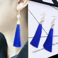 Anting Korea Tassel Long Latin Dance Earrings/Anting Cantik Murah