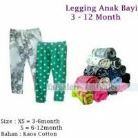 Celana Legging Anak Bayi 3-12 Bulan - Grosir Celana Legging Motif