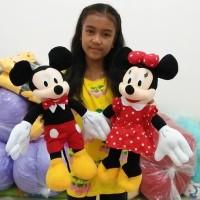 Boneka Mickey & Minnie Mouse M