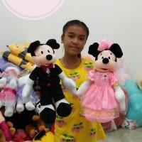 Boneka Mickey & Minnie Mouse Pengantin