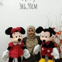 Boneka Mickey & Minnie Mouse Jumbo 1 pasang
