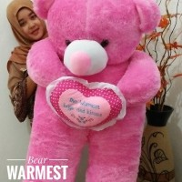 Boneka Bear Warmest Super Jumbo / Teddy Bear Super JUMBO