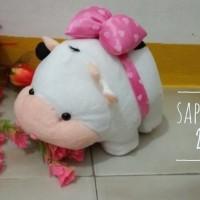 Boneka sapi kecil  murah