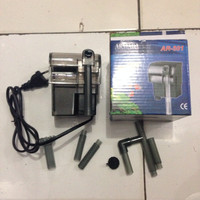aquarium aquascape filter gantung hang on armada ar 501 amara