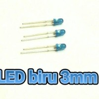 LED 3MM biru light-emitting diode biru