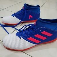 Sepatu Futsal Adidas ACE17.3 IC - White Blue Red