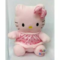 Boneka Hello Kitty Dress Love Pink Yelpo Halus