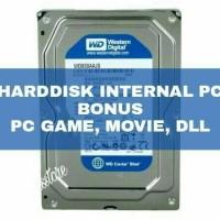 Harddisk PC Internal 320gb New + Full isi Game, Film,Anime bebas pilih