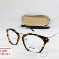 Frame Kacamata Frame Miu Miu 58538 Leopard