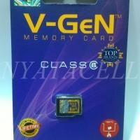 Memory Vgen 8GB Class 6 / 8 GB /Micro SD/Card/Memori/Kelas 6/P