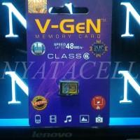 Memory Vgen 32GB Class 6 / 32 GB /Micro SD/Card/Memori/Kelas 6