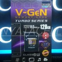 Memory Vgen 128GB Class 10 (Micro SD HC/Card/Memori/Kelas 10/1