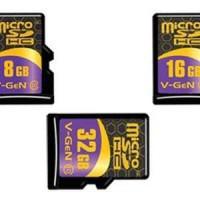 Memory Vgen 16GB Class 10 NA (Micro SD HC/Card/Memori/Kelas 10