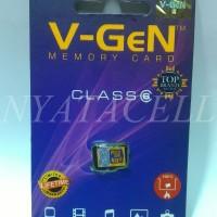 Grosir Memory Vgen 4GB Class 6 / 4 GB /Micro SD/Card/Memori/Ke