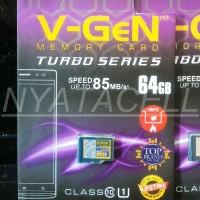 Memory Vgen 64GB Class 10 NA (Micro SD HC/Card/Memori/Kelas 10