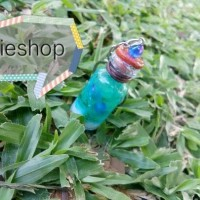Charm Bottle/Wish Bottle/gantungan kunci/kado unik/ulang tahun/couple