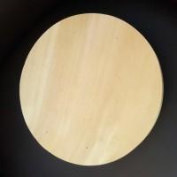 wood round tray. alas kayu pinus